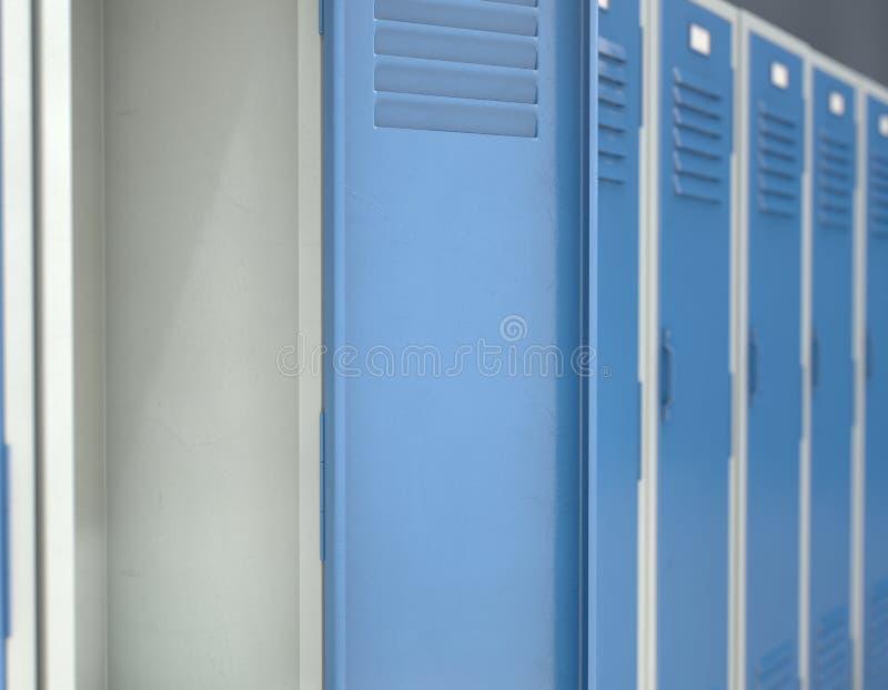 Blauwe Open Kast stock illustratie