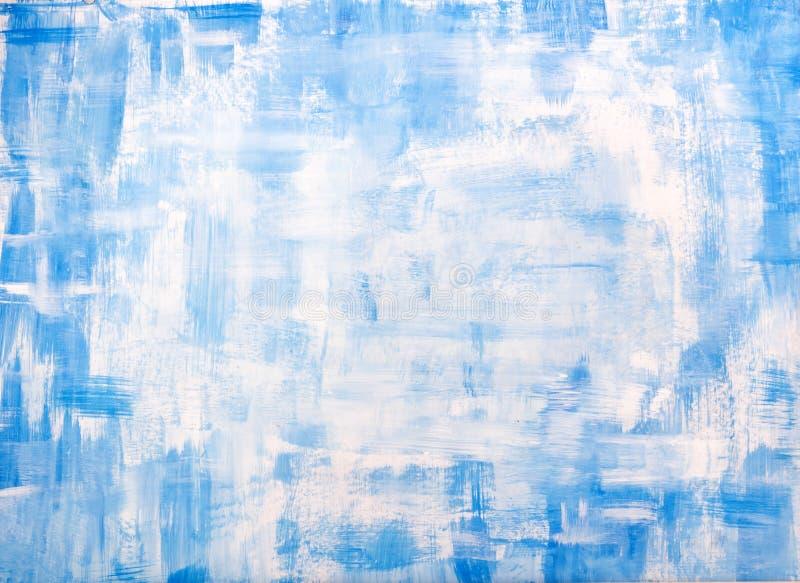 Blauwe oude uitstekende van grungekerstmis textuur als achtergrond royalty-vrije illustratie
