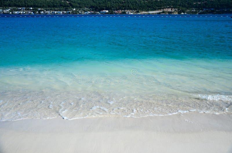 Blauwe overzees stock afbeelding