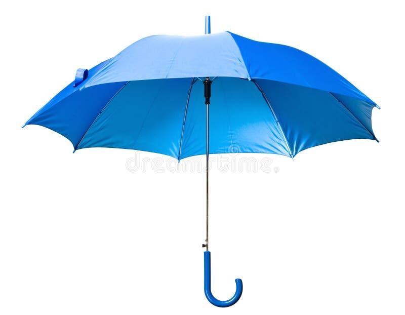 Blauwe paraplu stock fotografie