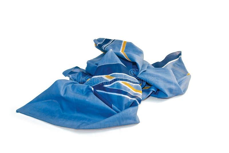 Blauwe pareo stock foto