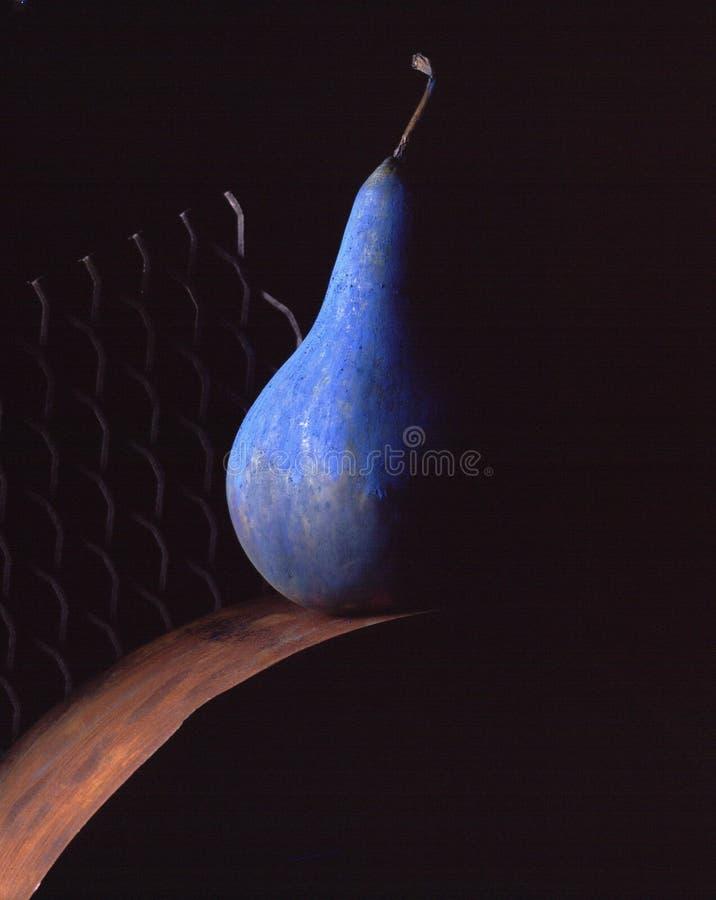 Blauwe peer. stock foto's