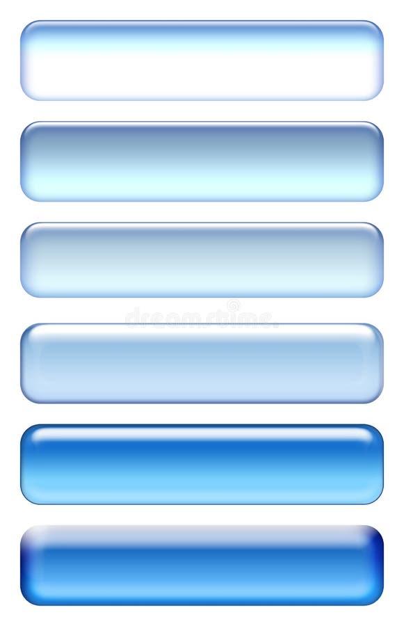 Blauwe pictogrammen