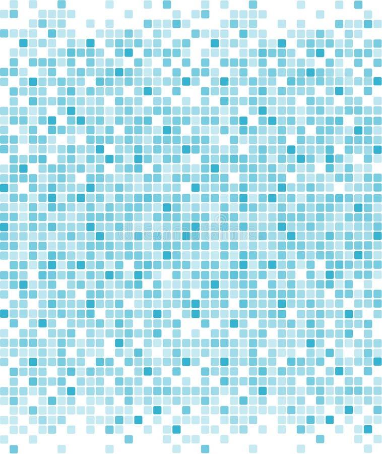 Blauwe pixelachtergrond royalty-vrije stock foto