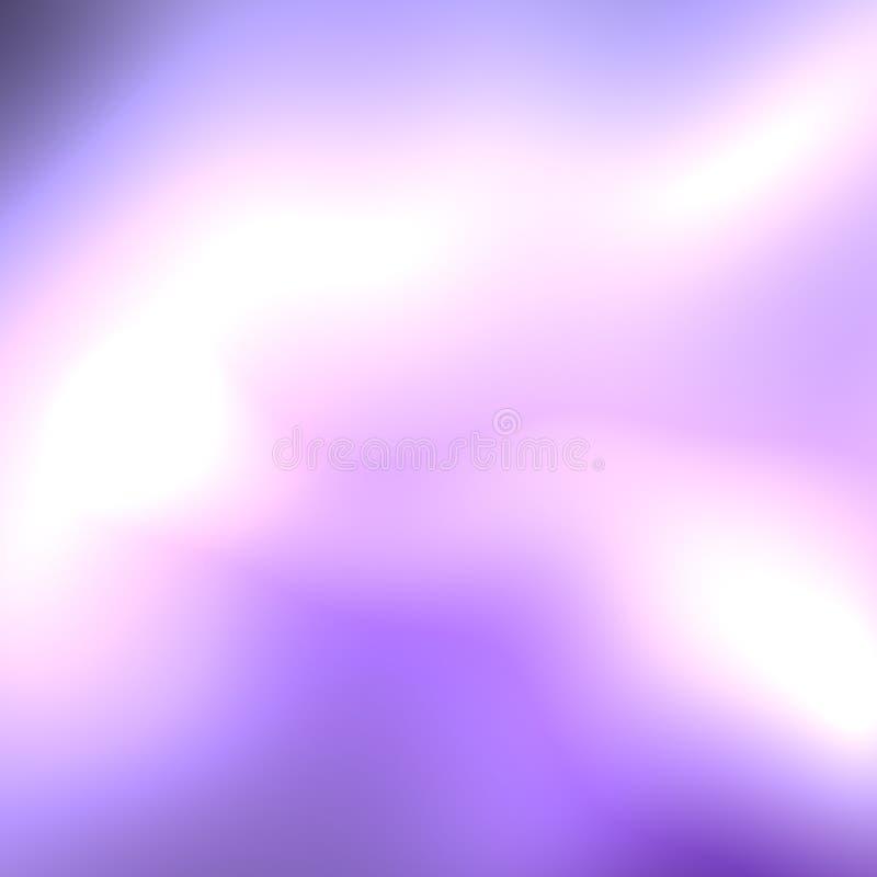 Blauwe roze stralende onduidelijk beeld abstracte achtergrond stock illustratie