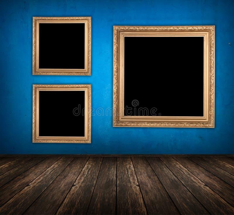 Blauwe ruimte royalty-vrije stock fotografie