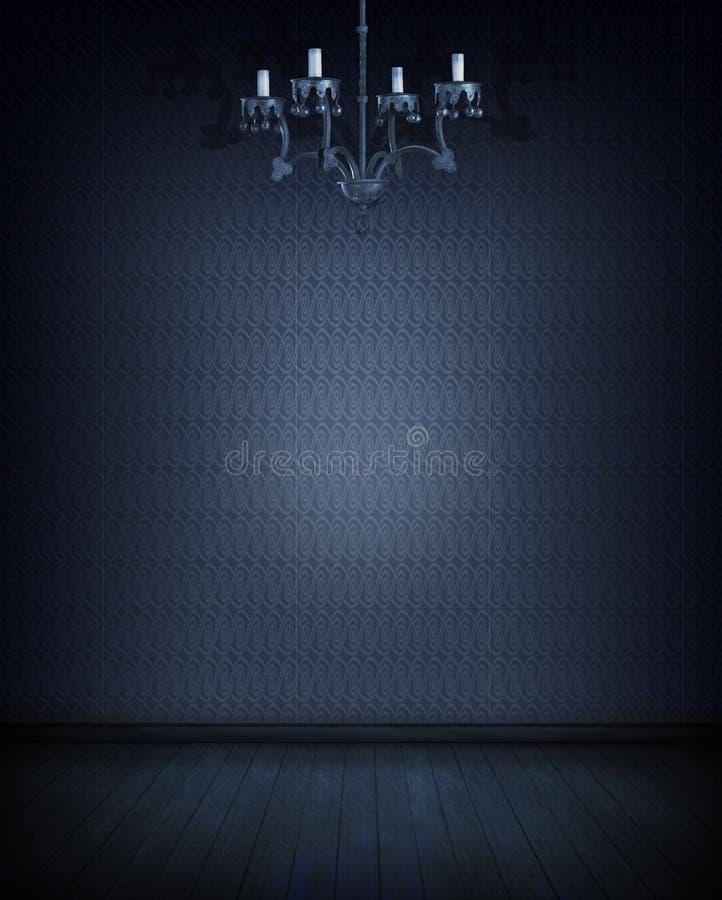 Blauwe ruimte stock afbeeldingen