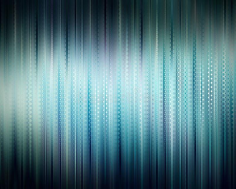 Blauwe schijnwerper abstracte achtergrond. Illustratie. vector illustratie