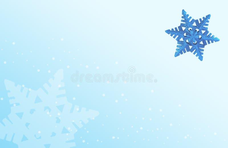 Blauwe Sneeuw stock afbeeldingen