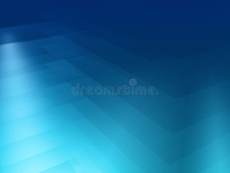 Blauwe spectrumachtergrond stock illustratie