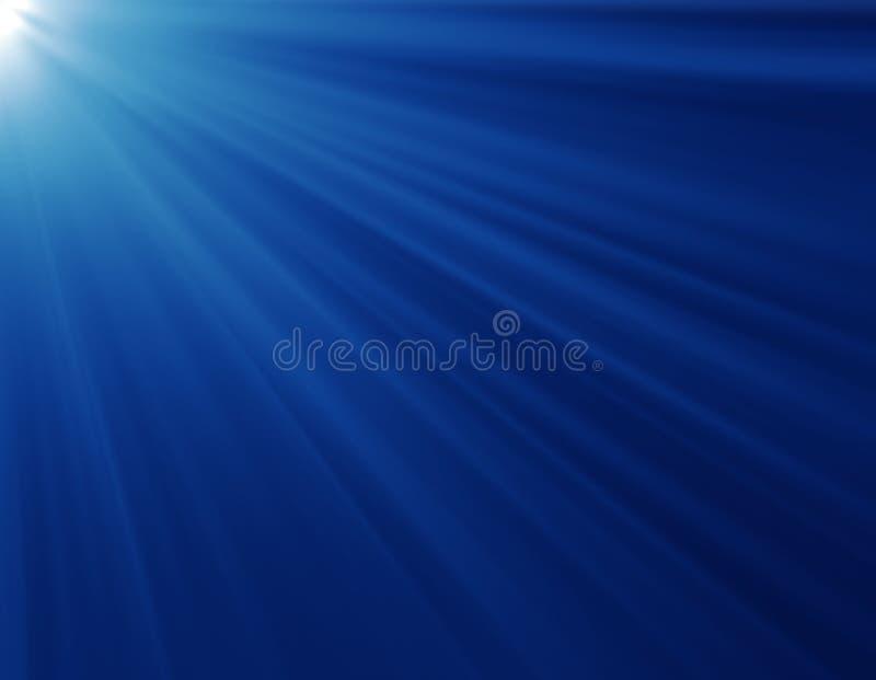 Blauwe stralen stock afbeeldingen