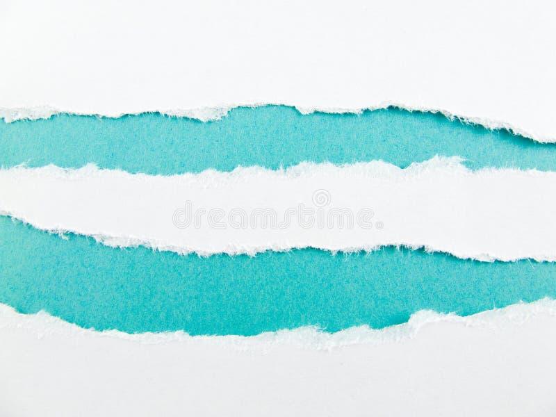 Blauwe strepen stock fotografie