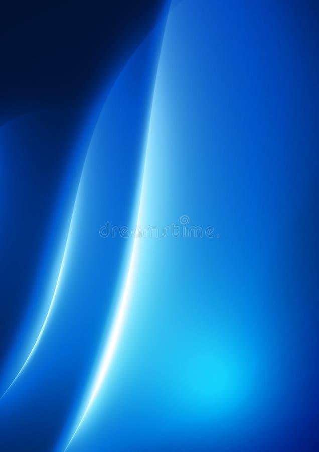 Blauwe stroom vector illustratie