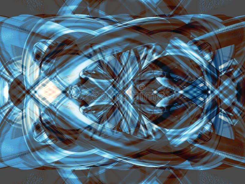 Blauwe structuur stock illustratie
