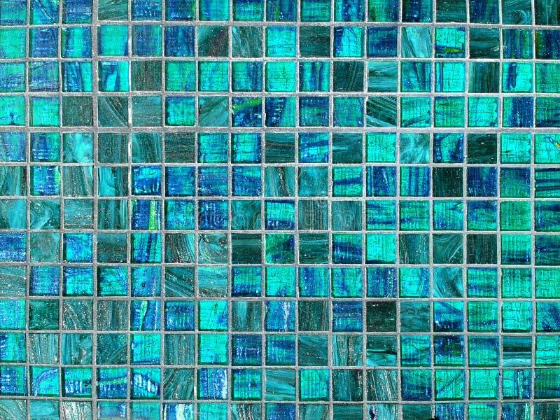 Blauwe tegelachtergrond stock fotografie