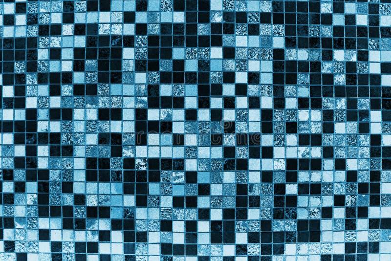 Blauwe tegelachtergrond royalty-vrije stock afbeeldingen