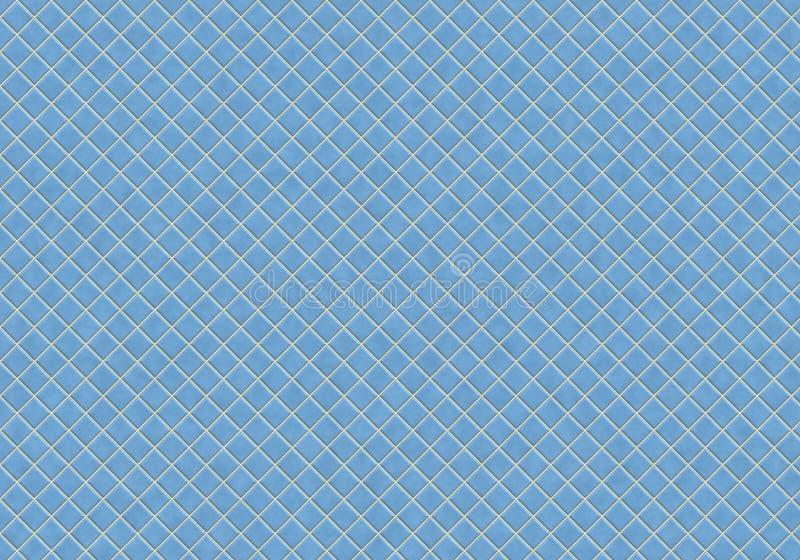 Blauwe tegels royalty-vrije illustratie