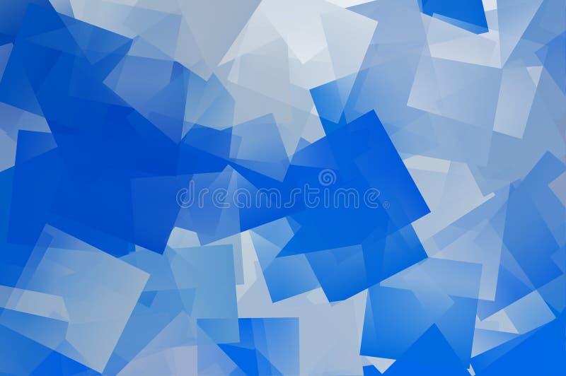 Blauwe textuur vector illustratie