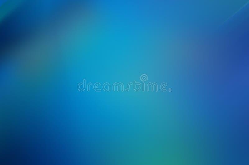 Blauwe Vage Abstracte Achtergrond vector illustratie