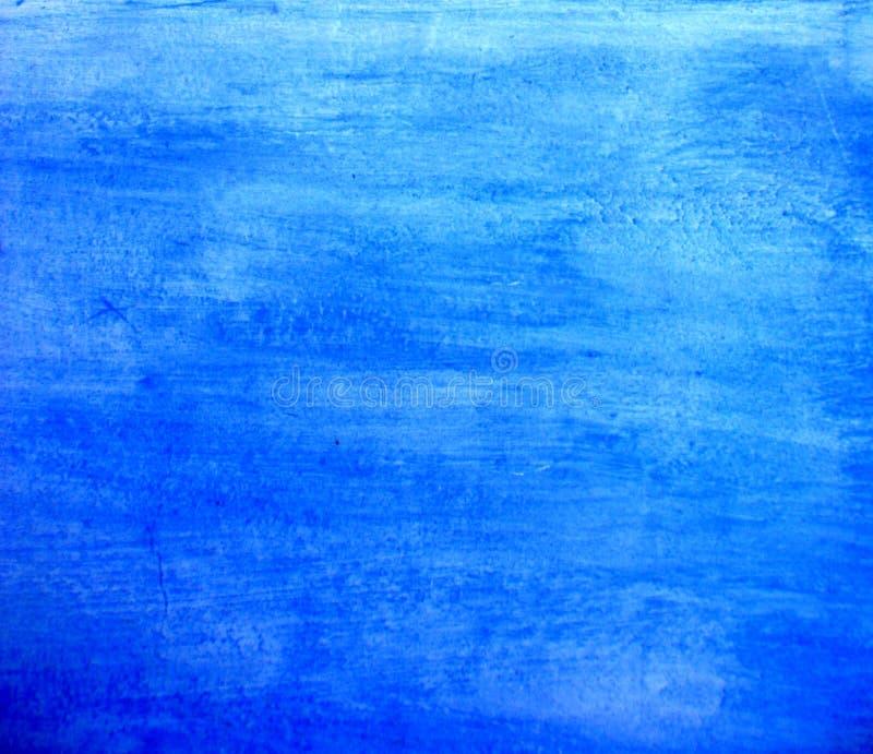 Blauwe wasachtergrond royalty-vrije stock afbeeldingen