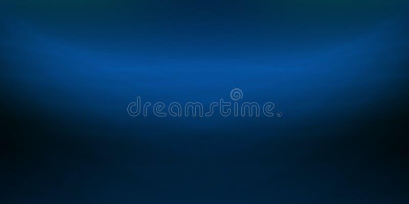 Blauwe water overzeese abstracte grafische achtergrond royalty-vrije stock foto's