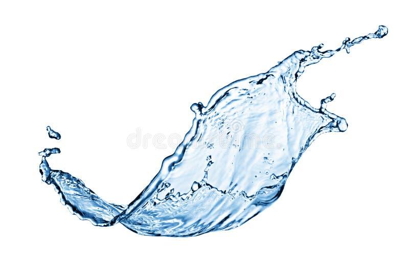 Blauwe waterplons stock foto's