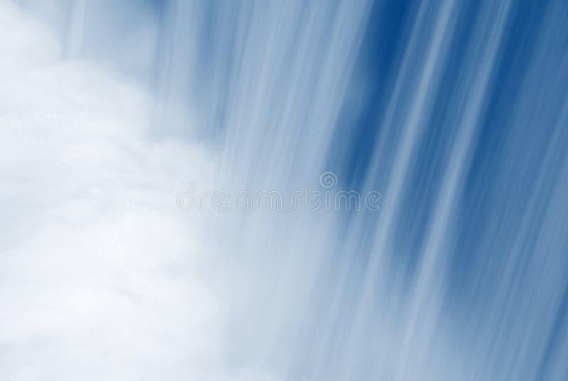 Blauwe waterval stock foto's