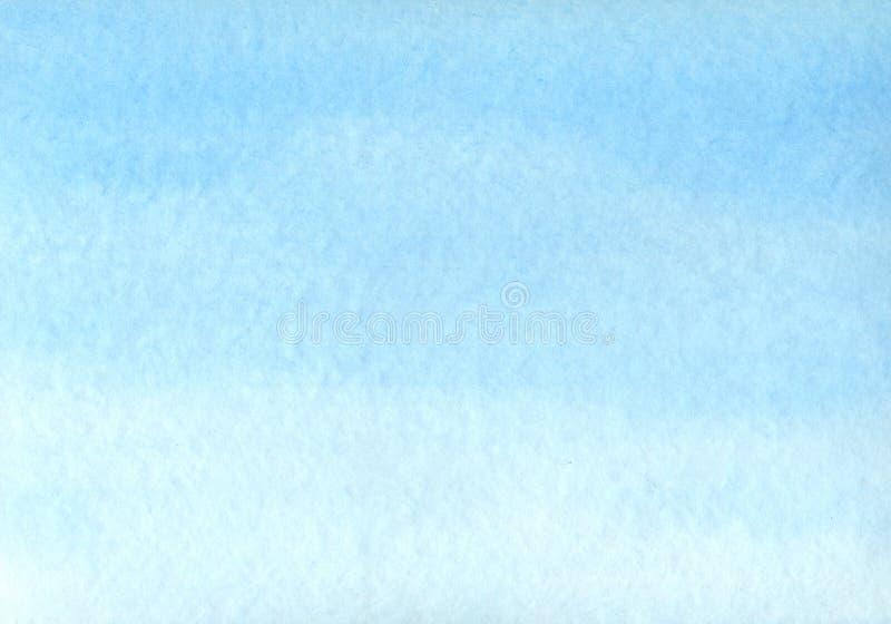 Blauwe waterverfachtergrond vector illustratie
