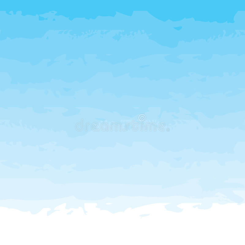 Blauwe waterverfachtergrond royalty-vrije illustratie