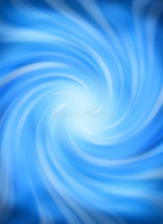 Blauwe Werveling vector illustratie
