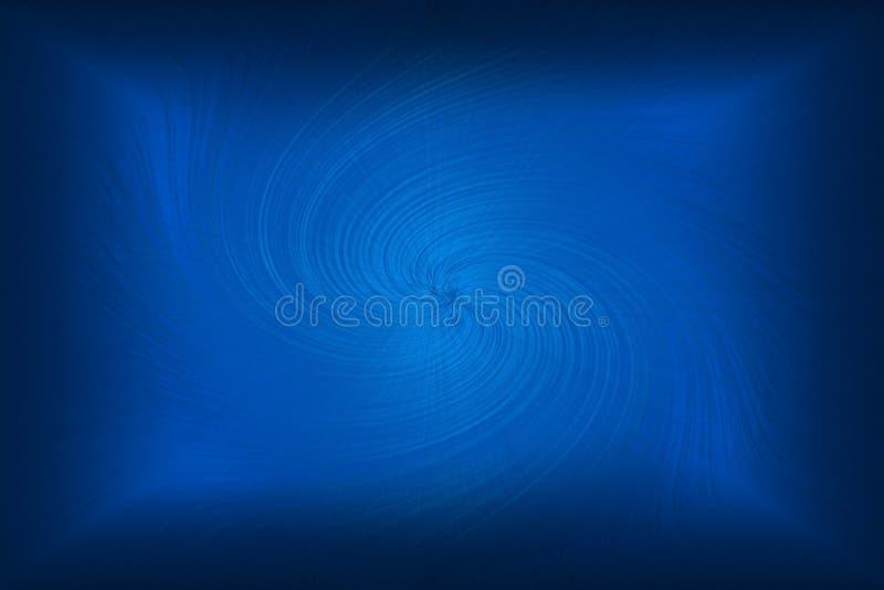 Blauwe wervelingsachtergrond stock foto