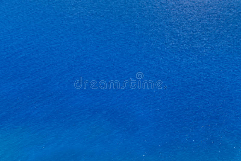 Blauwe zeewatertextuur royalty-vrije stock afbeeldingen