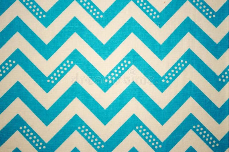 Blauwe zigzag royalty-vrije stock fotografie