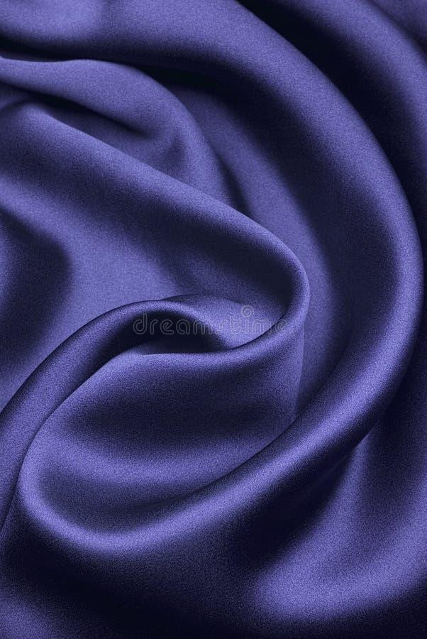 Blauwe zijde royalty-vrije stock foto