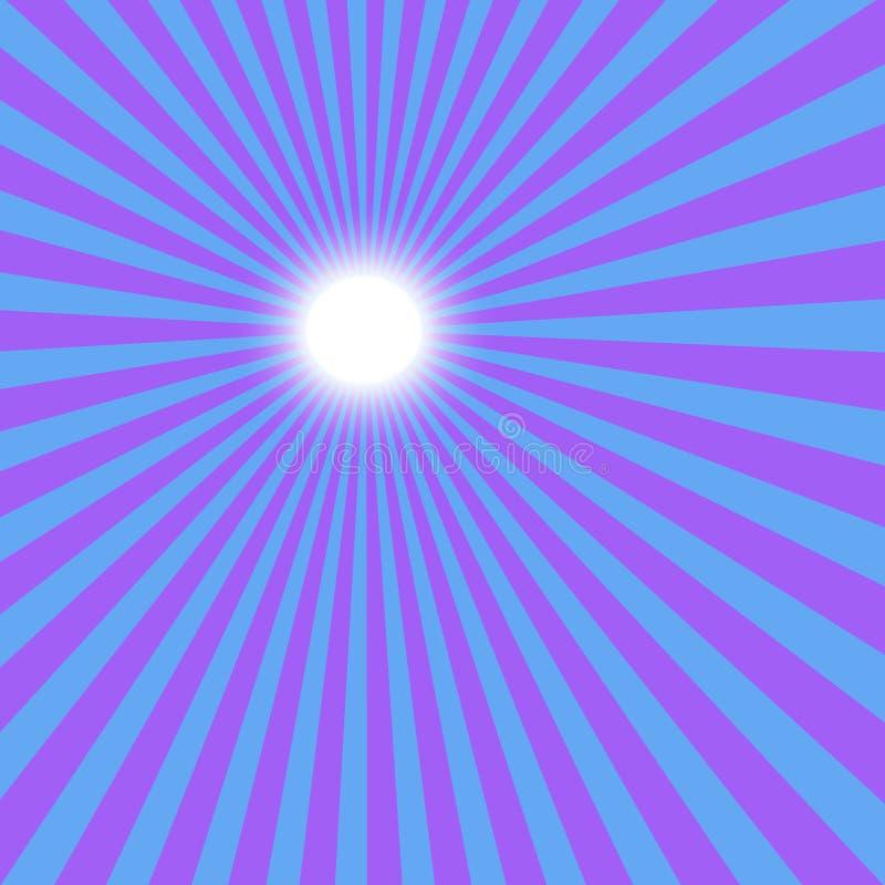 Blauwe zon