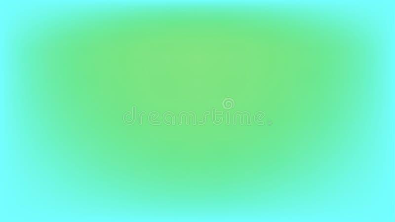 Blauwgroen en bleek - de groene abstracte vectorachtergrond van het gradiëntnetwerk royalty-vrije stock afbeeldingen