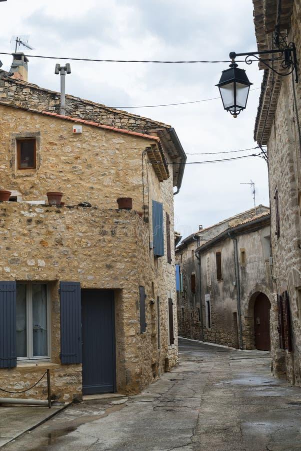 Blauzac, vieux village dans les Frances photo stock