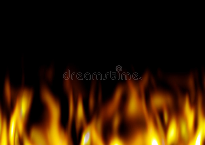 Download Blaze stock illustration. Illustration of fire, ignite - 8263597
