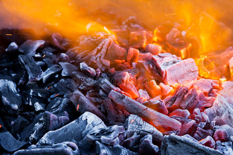 Download Blaze closeup stock image. Image of pile, fossil, fireplace - 24082091