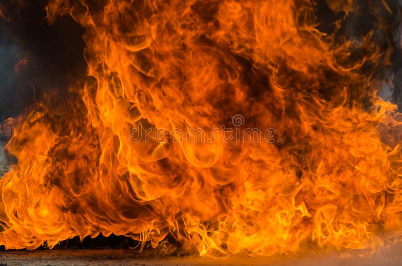 Blaze Fire Flame Background arkivfoto