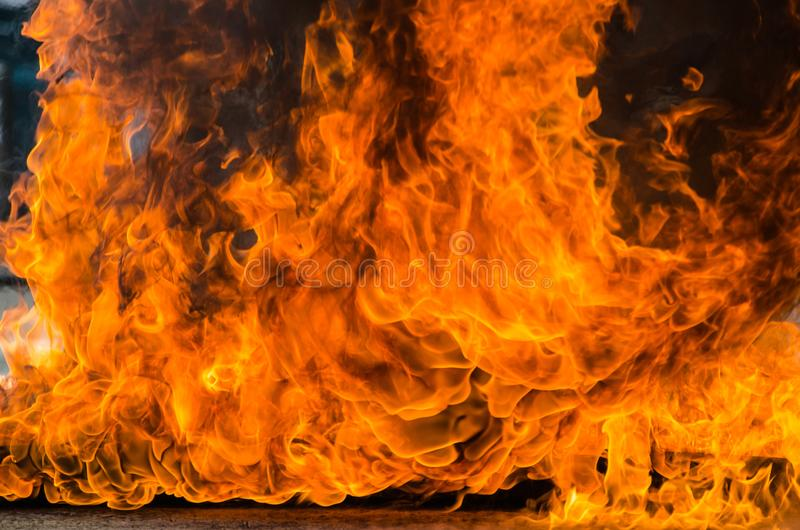 Blaze Fire Flame Background fotografering för bildbyråer
