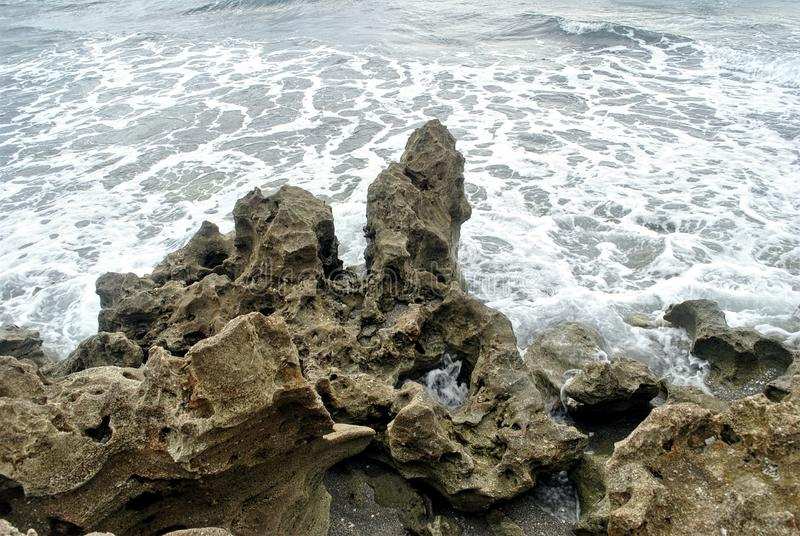 Blazende rotsen royalty-vrije stock afbeelding