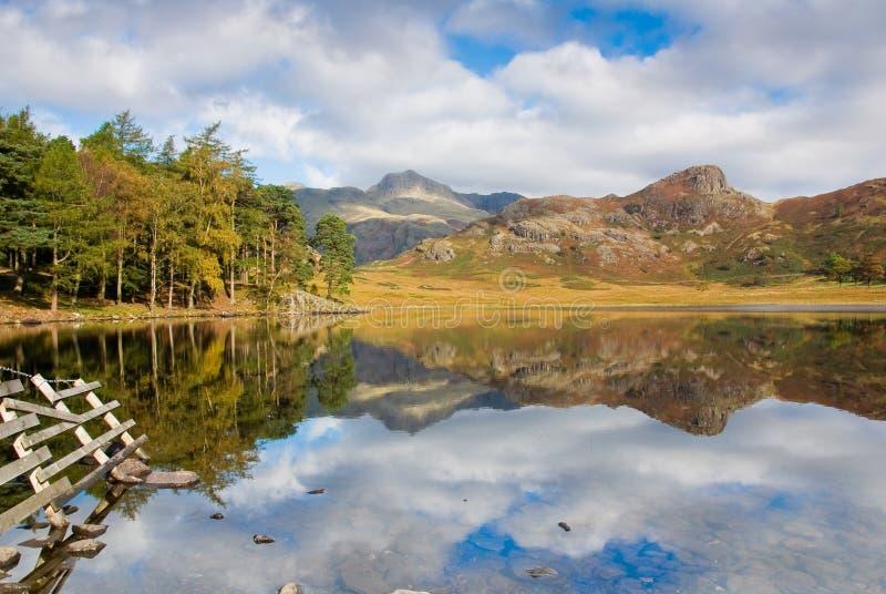 Blea Tarn. In the lake District, UK royalty free stock image