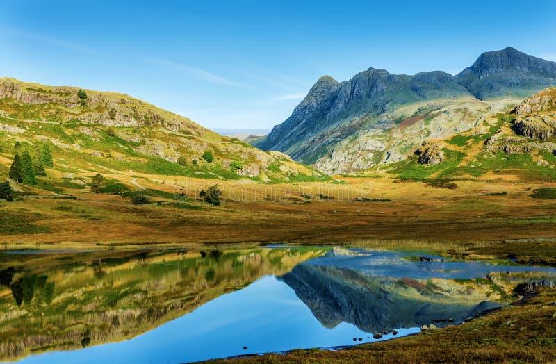 Blea Tarn, English Lake District royalty free stock image