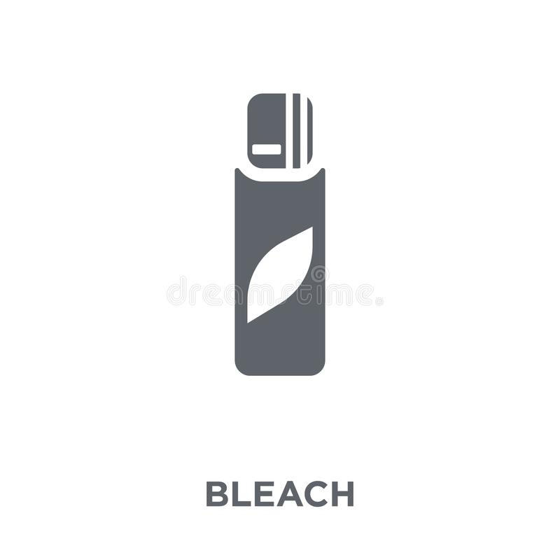 Bleach icon from collection. vector illustration
