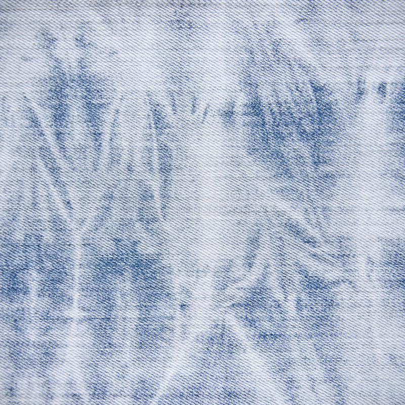 Bleached Blue Jean Fabric Texture stock photos