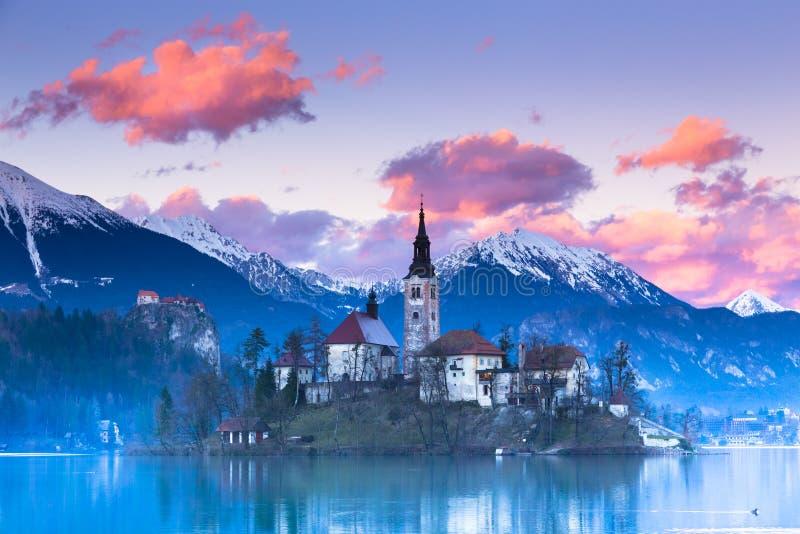 Bled lake, Slovenia, Europe. stock photos