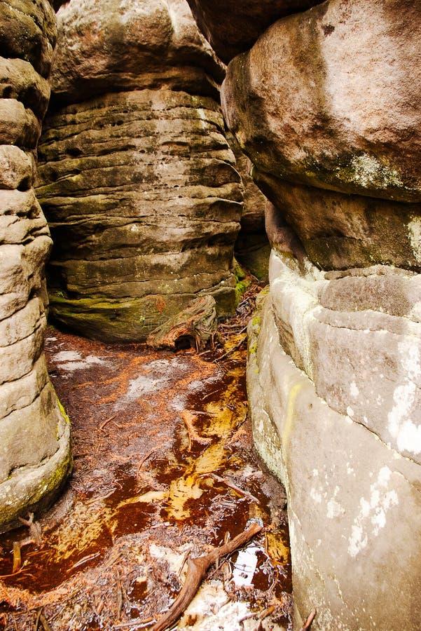 bledne skaly стоковое фото