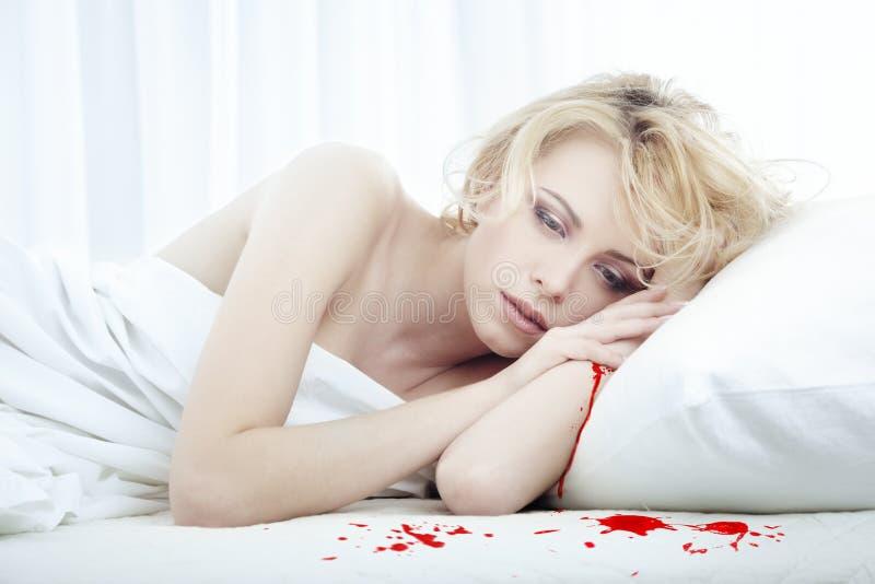 Download Bleeding beauty stock image. Image of idea, bedroom, bleed - 9342287