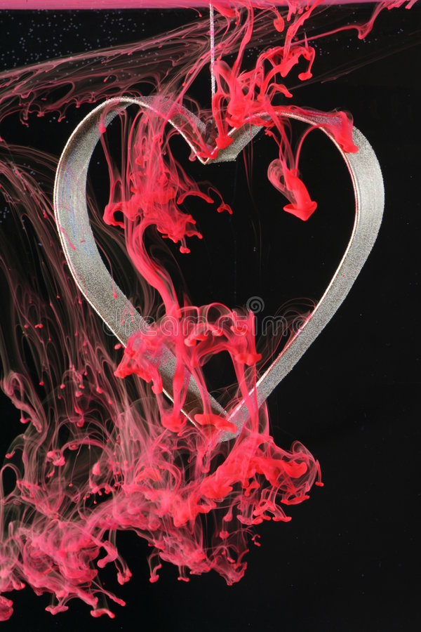 Download Bleeding Heart stock photo. Image of black, immersed, wispy - 2801384
